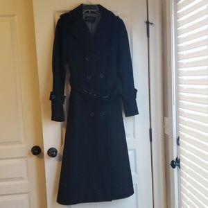 BCBG Black Trenchcoat
